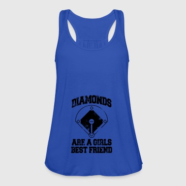diamonds are a girls best friend - Women's Tank Top by Bella