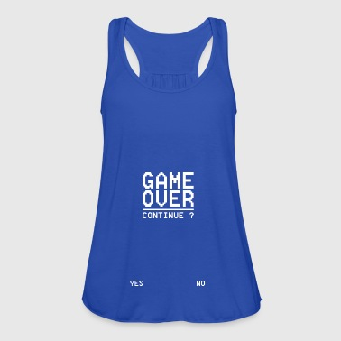 GAME OVER Continue W - Women's Tank Top by Bella