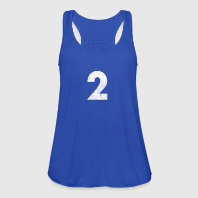 Number 2, Number 2, 2, two, Number two, Two - Women's Tank Top by Bella