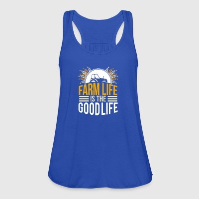 farmer - farm life is the good life - Women's Tank Top by Bella