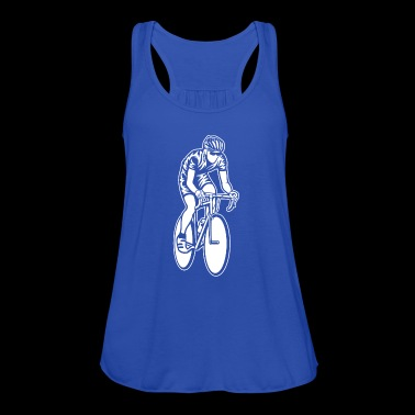 Race / Racing Bicycle 01_weiß - Dame tanktop fra Bella