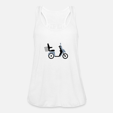 Scooter Scooter / Scooter - Women's Tank Top by Bella