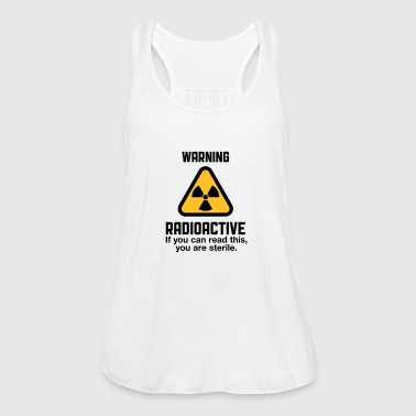 Attention: Radioactivity - Women's Tank Top by Bella