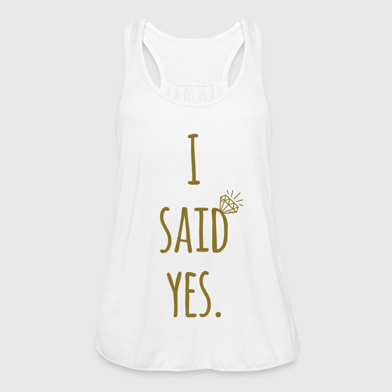 Hen Party: I said yes - Bride Shirt - Frauen Tank Top von Bella