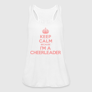 Keep calm because i'm a Cheerleader - Débardeur Bella Femme