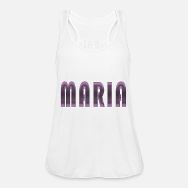 Birth Name Maria name first name name day birth gift idea - Women's Tank Top by Bella