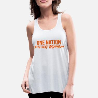 One Nation Lovemobile 2018-logo en -familie - Vrouwen tank top van Bella