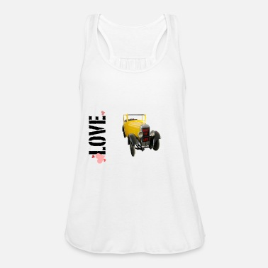 Drive Go By Car I love driving a car - Women's Tank Top by Bella