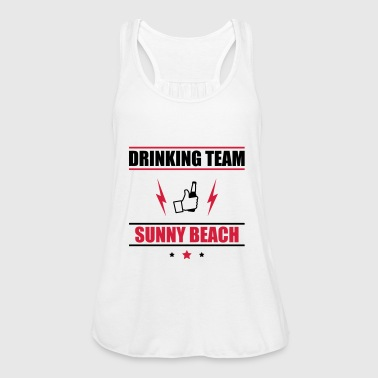 Drinking Team Sunny Beach - Women's Tank Top by Bella