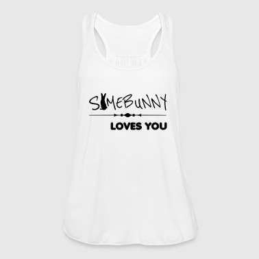 somebunny loves you loves you - Women's Tank Top by Bella