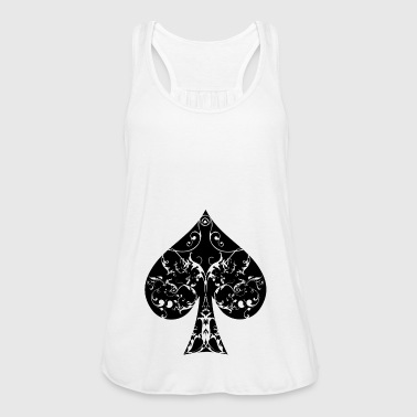 Ace Of Spades Spades card symbool Tribal Poker Ace Hold'em - Vrouwen tank top van Bella