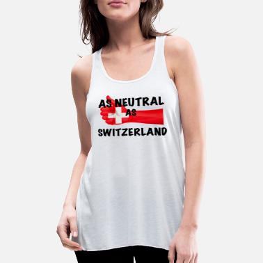 Neutral Neutral as Switzerland - Women's Tank Top by Bella