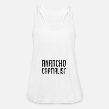 Anarchico Anarcho Anarchico libertario capitalista - Top da donna della marca Bella
