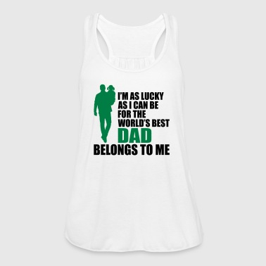 World's best dad fathers day - Women's Tank Top by Bella