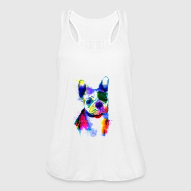 French Bulldog I The colorful dog - Women's Tank Top by Bella