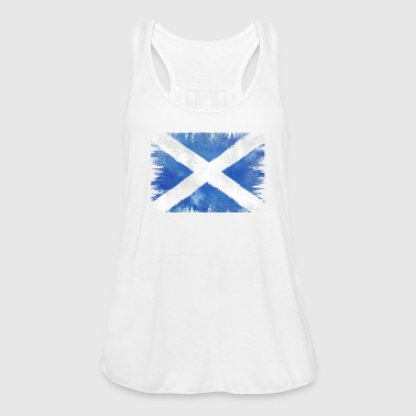 SCOT VINTAGE  FLAG  - Women's Tank Top by Bella