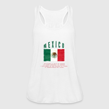 Mexican Flag Bandera Mexico - Women's Tank Top by Bella