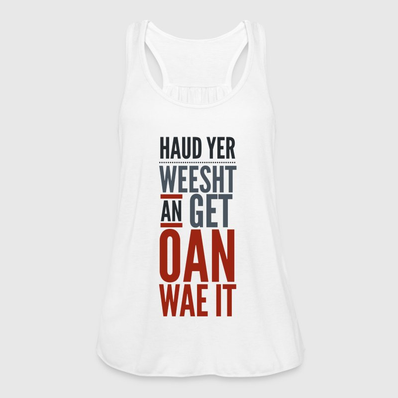 Scottish Banter, Jokes, Motivation - Women's Tank Top by Bella