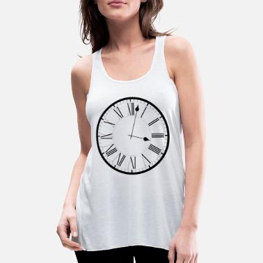 Clock Clock / Clock - Women's Flowy Tank Top