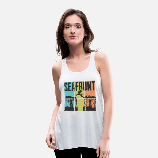 Harbour Tank Tops - coast - Women's Flowy Tank Top white