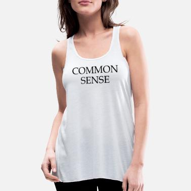 Commonwealth Day Common Sense-citaat - Vrouwen tank top