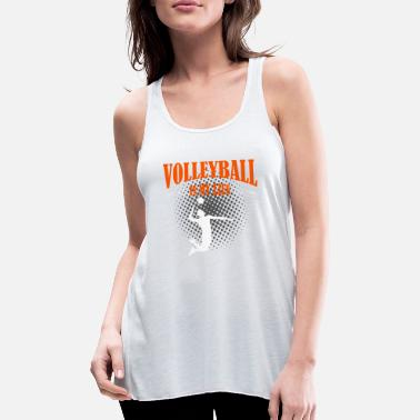 Pallavolo Volleyball er mit liv - Tanktop med racerback dame