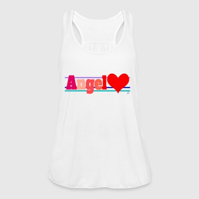 Angel and heart - Women's Tank Top by Bella