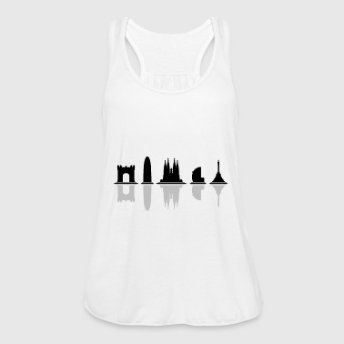 Barcelona Skyline - Frauen Tank Top von Bella