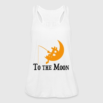 Bitcoin -To The Moon - Women's Tank Top by Bella