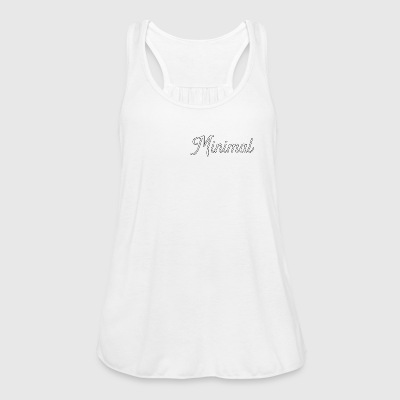 minimal - Women's Tank Top by Bella