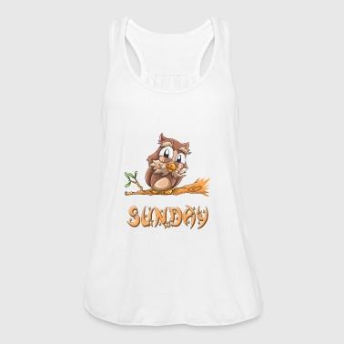 Owl sunday - Women's Tank Top by Bella
