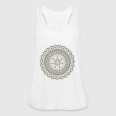 Black Mandala - Women's Tank Top by Bella