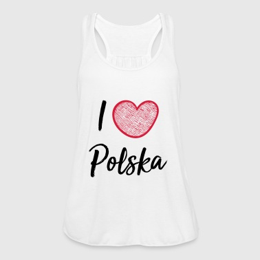 I love Poland - Women's Tank Top by Bella