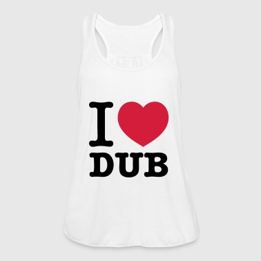 I love Dub Techno Musik - Frauen Tank Top von Bella