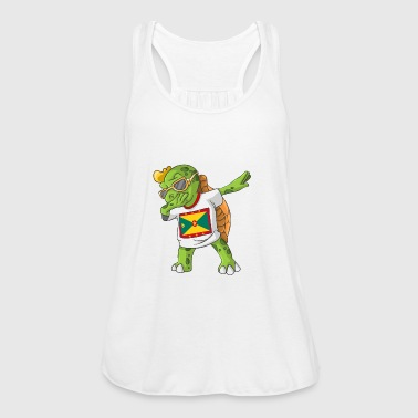 Grenada Dabbing turtle - Women's Tank Top by Bella