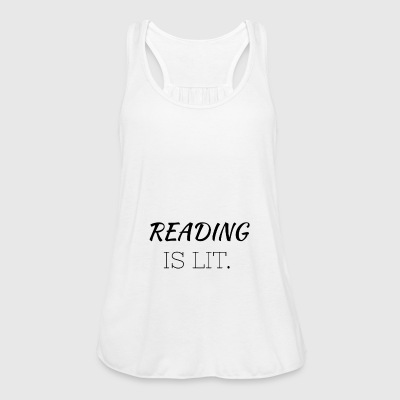 Reading Is Lit - Women's Tank Top by Bella