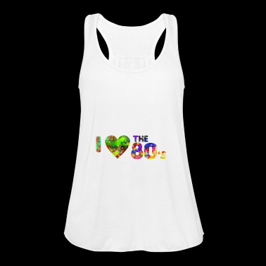 I love the 80's - dance - oldschool - 1980 - Frauen Tank Top von Bella