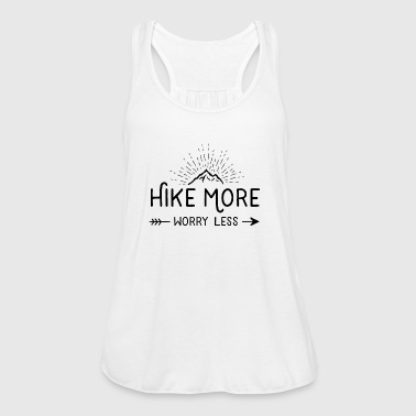 Hike More and Worry Less - Women's Tank Top by Bella