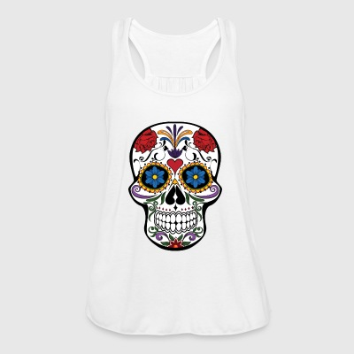 SKULL ROCK N ROLL HARDROCK GIFT T-SHIRT - Women's Tank Top by Bella