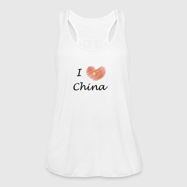 I love China I love China - Women's Tank Top by Bella