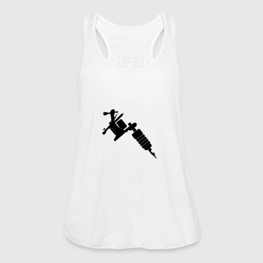 Tattoo Machine - Women's Tank Top by Bella
