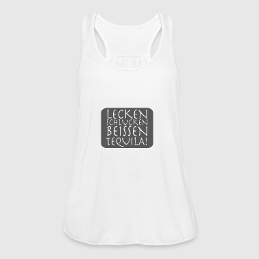 LICK SIPS BITE TEQUILA - Women's Tank Top by Bella