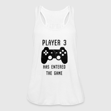 Player 3 has entered the game - Birth Pregnancy - Women's Tank Top by Bella