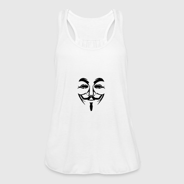 Anonymous Mask PNG Picture - Women's Tank Top by Bella