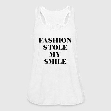 Fashion Stole My Smile - Women's Tank Top by Bella