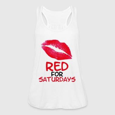 Red for saturdays - Women's Tank Top by Bella