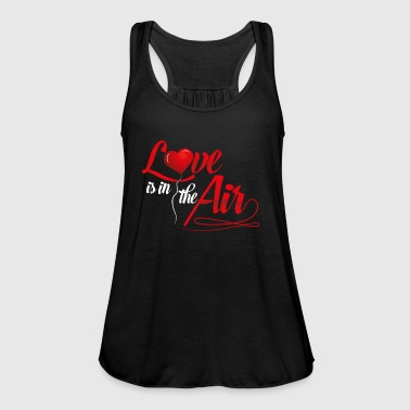 LOVE is in the air - Liebe Herz Romantik Beziehung - Frauen Tank Top von Bella