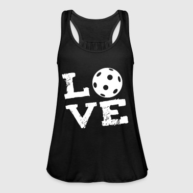 LOVE - veld hockey Indoor Hockey Floorball - Vrouwen tank top van Bella