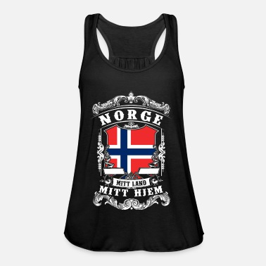 Norge Norge - Norge - Norge - Dame tanktop fra Bella