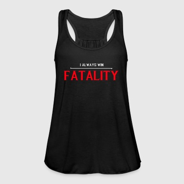 Kombat I always win fatality sports shirt - Women's Tank Top by Bella
